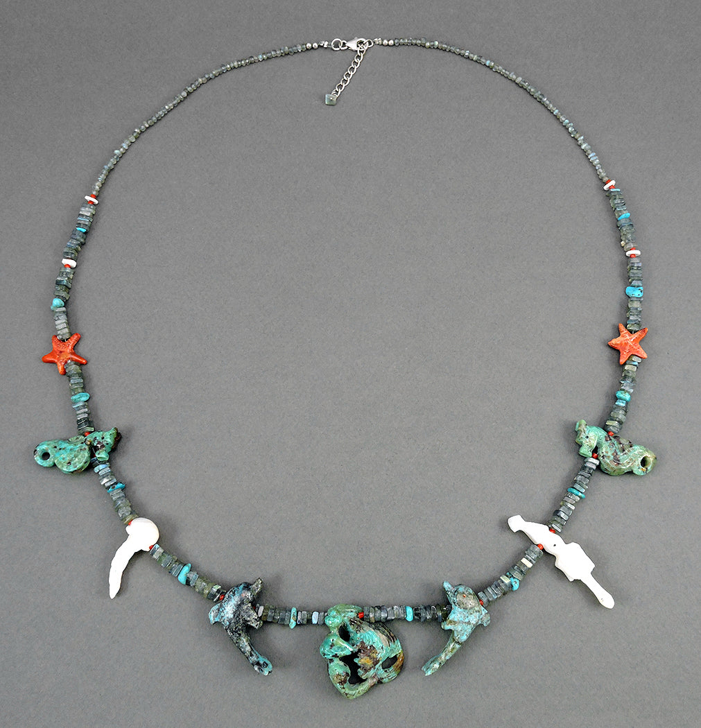 Enchantment Under The Sea Reversible Necklace