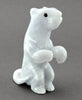 Playful Otter Of Italian Blue Ice Alabaster