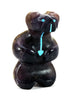 Standing Bear With Turquoise Heartline