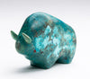 Courageous Chrysocolla Bison