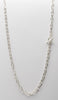 Luxurious Sterling Silver Chain Necklace