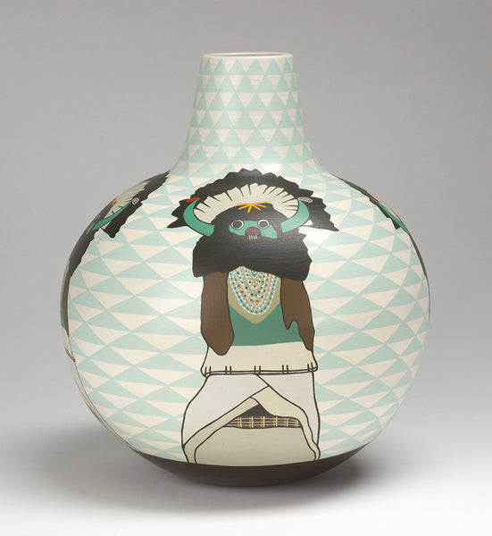 """Shalako"" Pottery Jar"