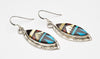 Lovely Inlaid Dangle Earrings