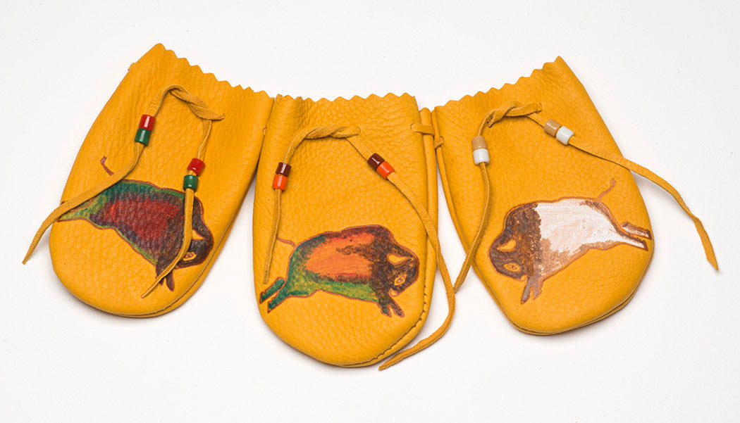 Beautiful Bison Pouch Set