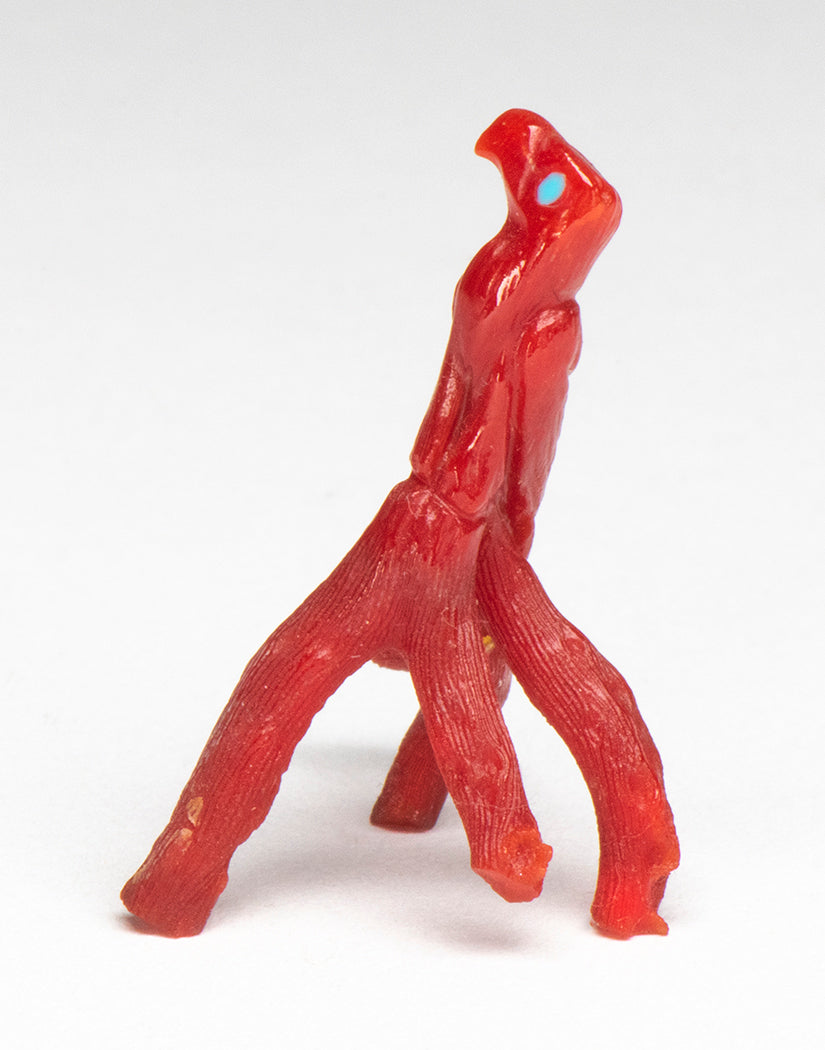 Natural Branch Red Coral Raptor