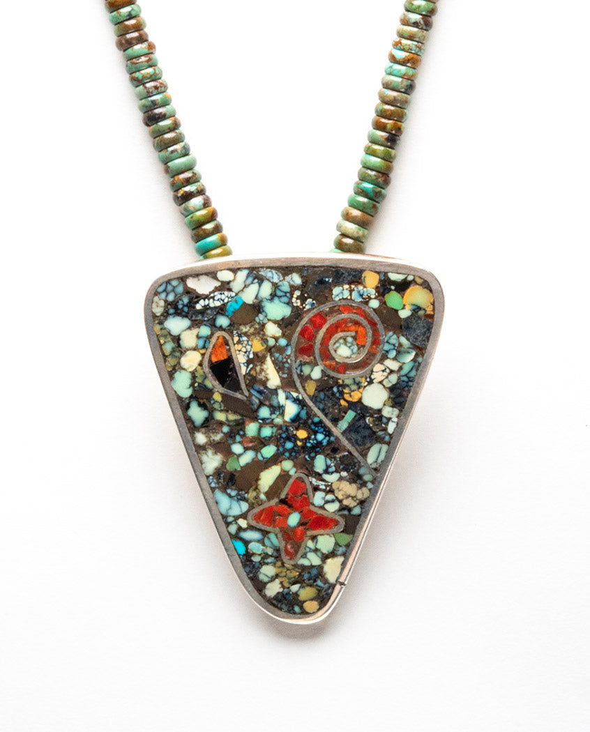 Universal Mosaic Pendant Necklace