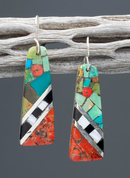 Beautifully Bold Mosaic Earrings