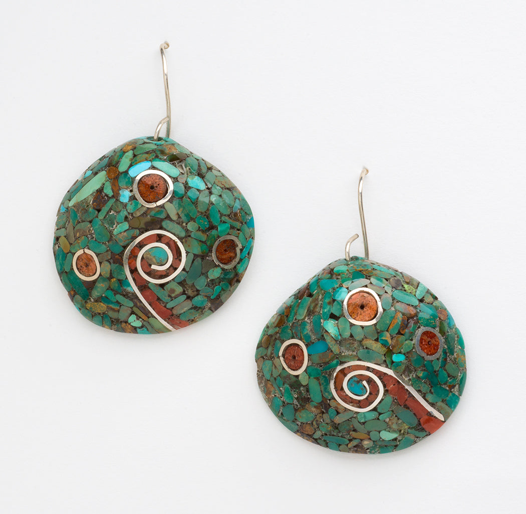 Traditional Kewa Mosaic Earrings