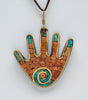 All In Hand Mosaic Pendant
