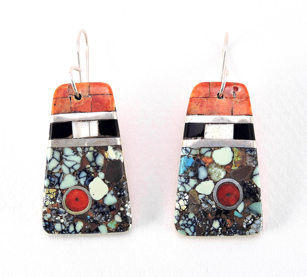 A Gorgeous Pair Of Mosaic Earrings