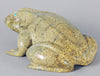 Fantastic Zuni Travertine Frog