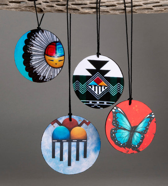 Set Of Four Zuni Ornaments