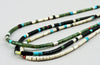 Vibrant Multi-Material Heishi Necklace