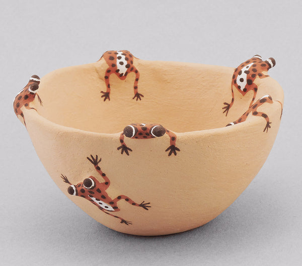 Raining Frogs Bowl