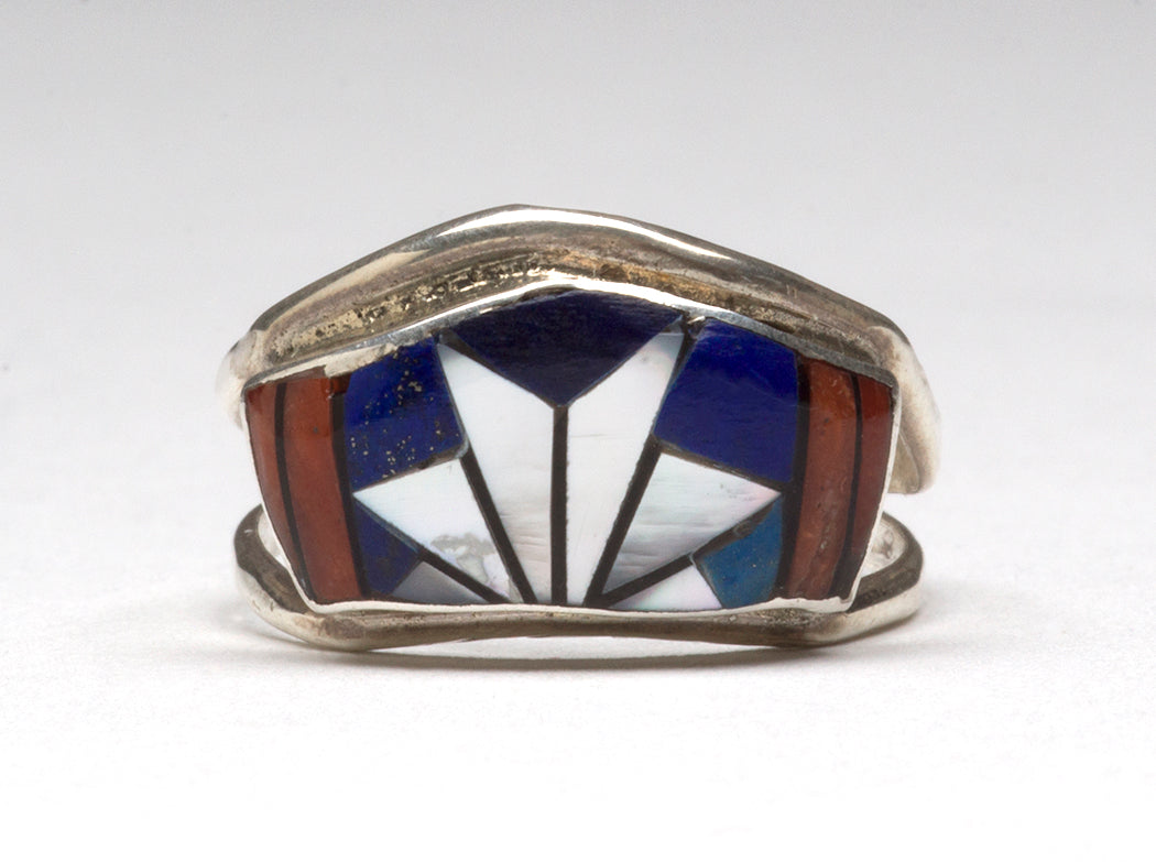Distinctive Inlaid Ring