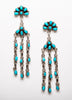 Rain Cloud Chandelier Earrings