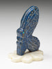 Beauteous Butterfly Of Lapis On Marble Base