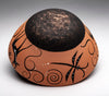 Tadpole, Deer & Dragonfly Pottery Bowl