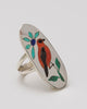 Scarlet Tanager Ring