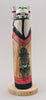 Double-Sided Snow Kachina Girl and Hemis Kachina Girl Carving