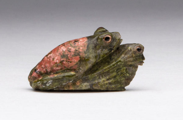 Frogs Of Unusual Stone