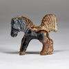 Picasso Marble Horse with a Flying Tail By Bryston Bowannie