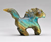 Labradorite Horse, Flying Its Mane And Tail