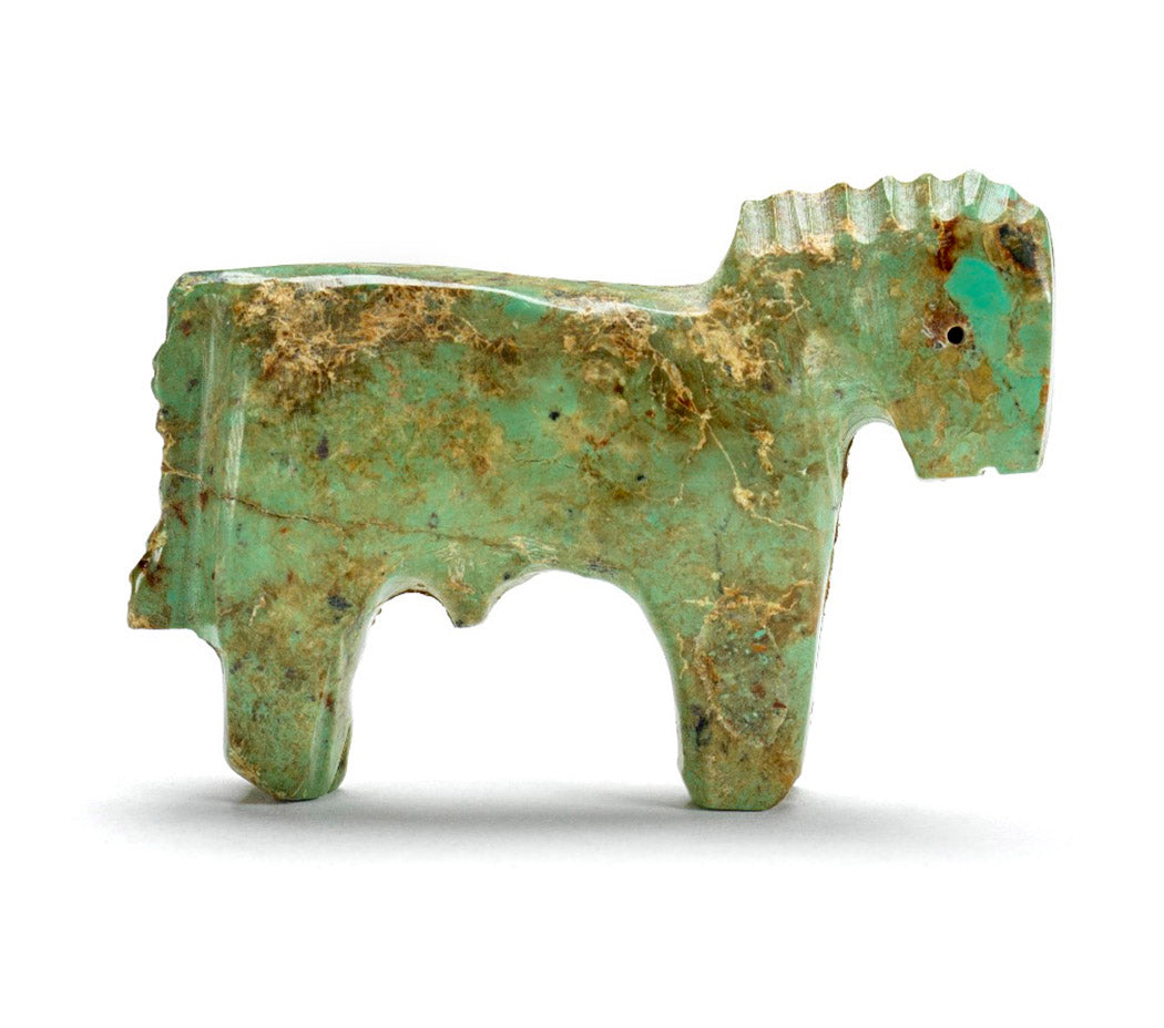 Iconic Green Turquoise Horse