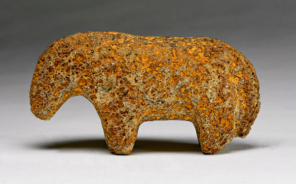 Golden Found Stone Was A Horse By Salvador Romero, Cochiti Pueblo
