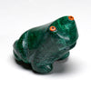 Vintage Malachite Frog with a Large Personality