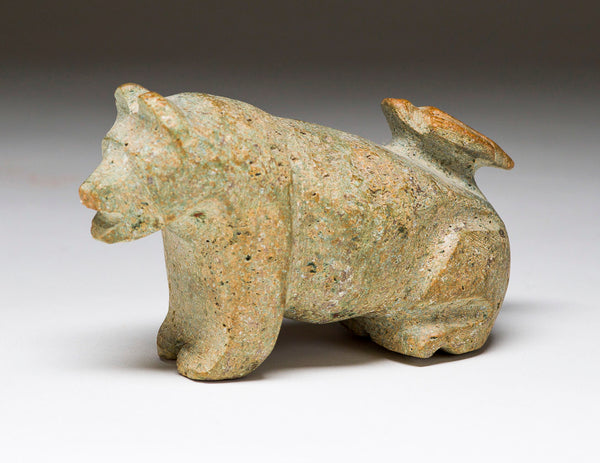 Bear with a Bird on its Back By Salvador Romero, Cochiti Pueblo