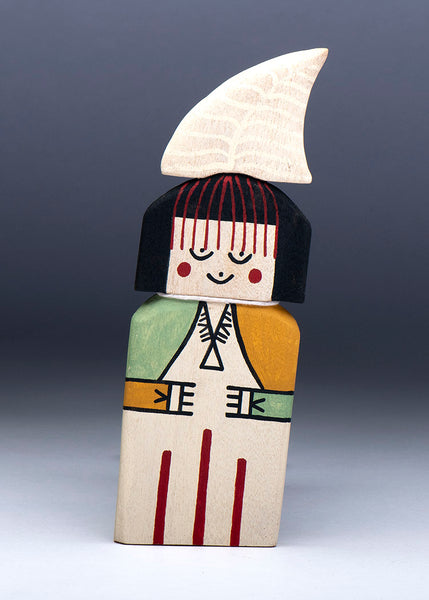 Cradle Doll Katsina Of Cottonwood