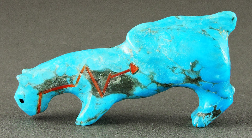 Youthful Mountain Lion Of Turquoise