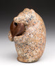 Speckled Bronze Bear With Heart Offering