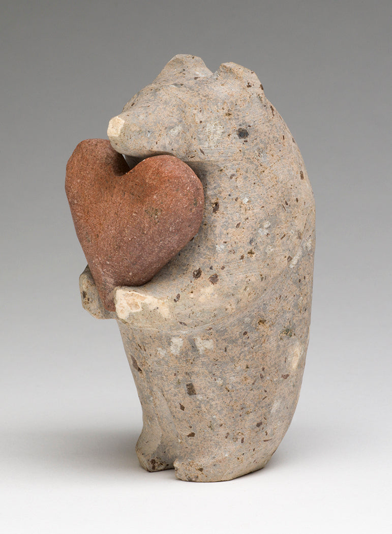 Standing Bear With A Heart Offering