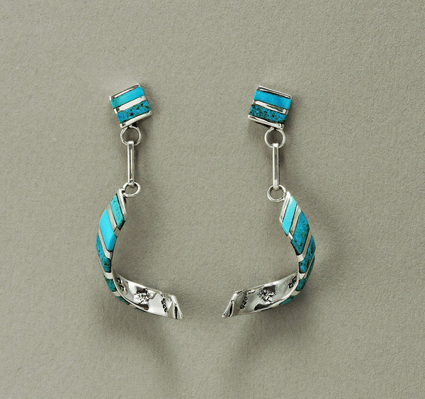 Cheerful Turquoise Earrings