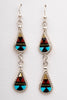 Teardrop Inlaid Earrings