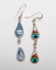 Stone To Stone Inlaid Earrings