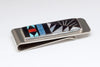 Handsome Multi-Material Inlaid Money Clip