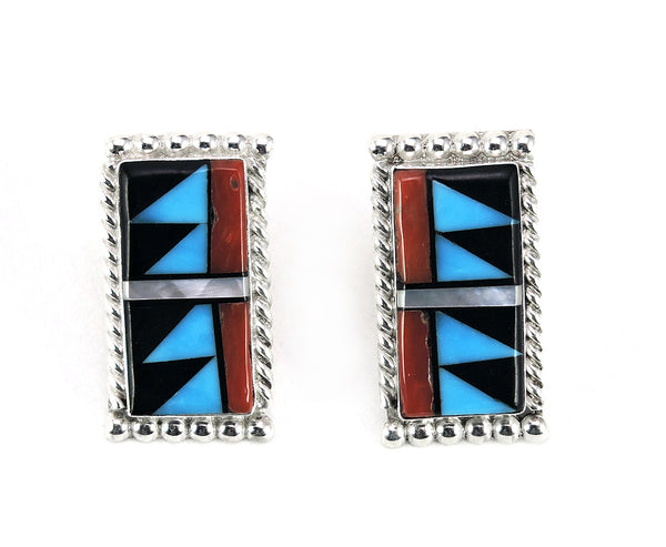 Pueblo Post Earrings