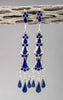 Sterling Silver & Lapis Lovely Earrings