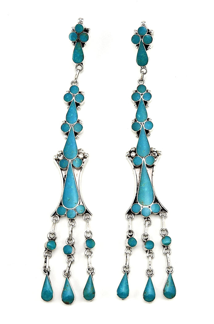 Extraordinary Turquoise Earrings