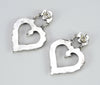 Be Mine Petit Point Heart Earrings