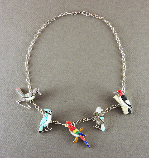 Feathered Friends Necklace