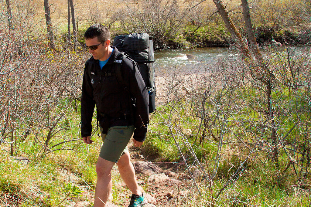 Our Products: Backpack Light 50L hits the trails!