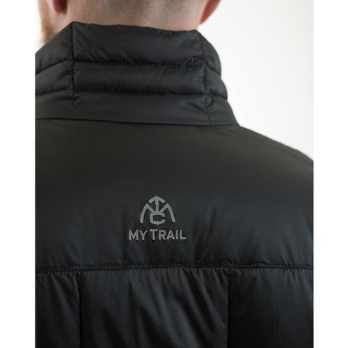 Down jacket reflective logo