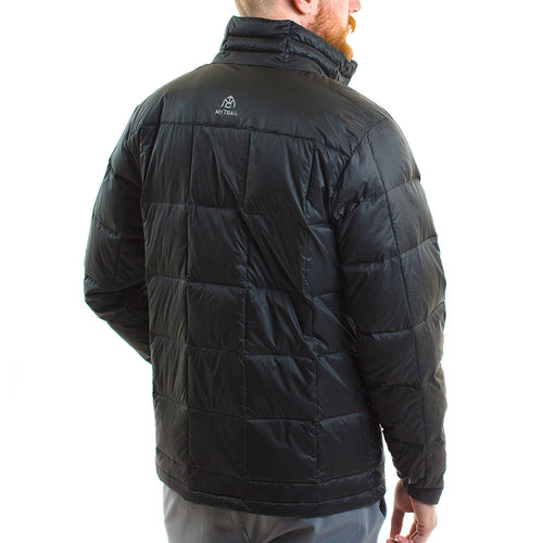 700 fill light down jacket back