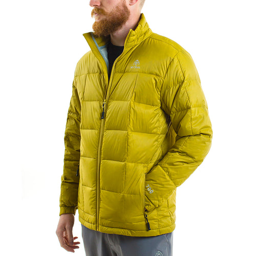 700 fill light down jacket in yellow