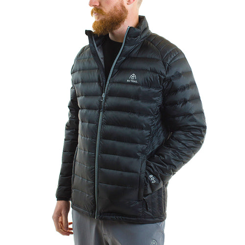 Ultralight Down Jacket front, Black