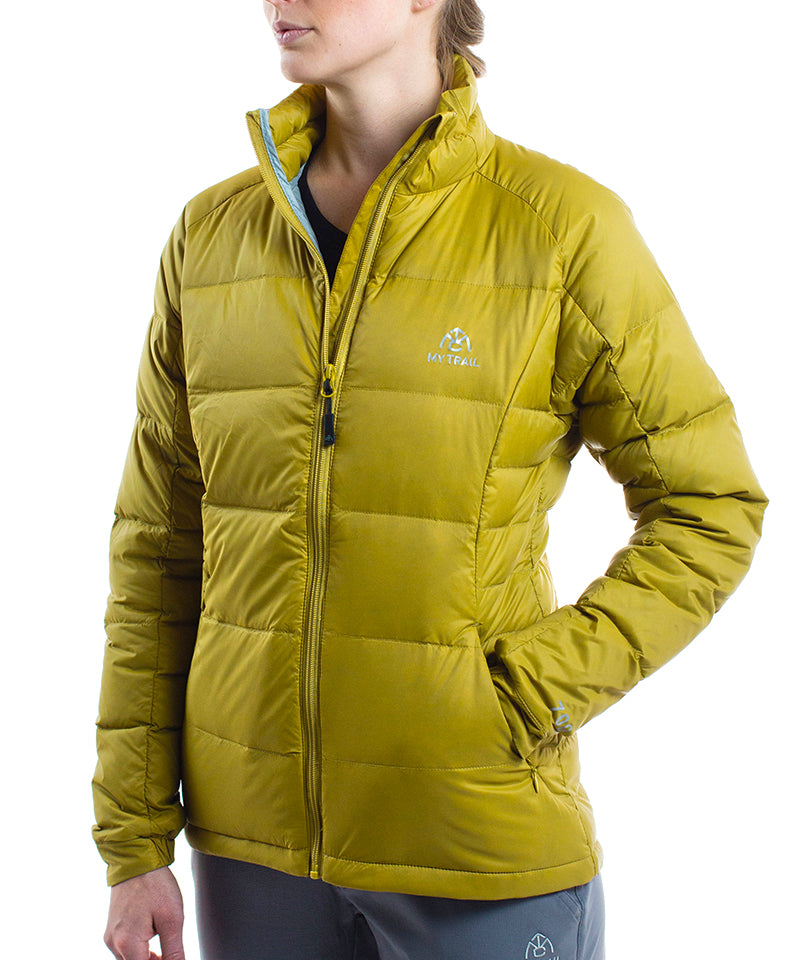 Women's 700 Fill Light Down Jacket golden moss